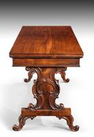 Regency Period Rosewood Library Table (5 of 7)