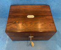 Victorian Rosewood  Box c.1840 (4 of 12)