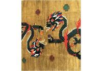 Vintage Tibetan Rug (3 of 6)