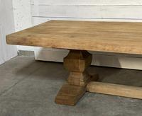 Enormous French Bleached Oak Farmhouse Dining Table (23 of 38)