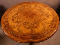 Stunning Quality Victorian Burr Walnut Centre Table Exhibition quality (2 of 15)