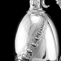 Antique Victorian Solid Silver Wine Ewer / Claret Jug - Barnard 1872 (10 of 19)