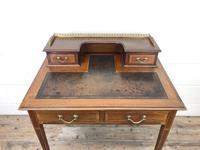 Antique Edwardian Mahogany Bonheur Du Jour Desk (3 of 15)