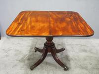 Scottish Mahogany Foldover Tea Table (5 of 11)