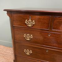 Quality Georgian Mahogany Antique Chest of Drawers (5 of 7)