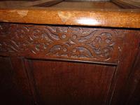 Jacobean Paneled Oak Coffer (6 of 7)