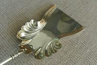 Quality Victorian Brass Fire Irons Companion Set Tongs Poker Shovel Set 18 c.1890 (6 of 9)