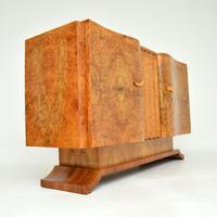 1930's Art Deco Burr Walnut Sideboard by Hille (5 of 12)