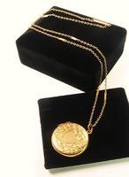 Edwardian Hallmarked 9 Carat Rose Gold Locket Necklace Chester Assayed (5 of 10)