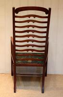 Arts And Crafts Mahogany Ladder Back Armchair (9 of 10)