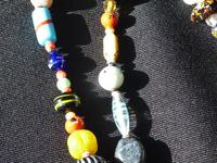 Vintage handmade  Murano Glass Bead necklace (6 of 12)