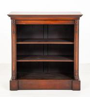 Mahogany Open Bookcase with adjustable shelves (6 of 8)