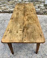 Large French Sycamore & Elm Farmhouse Table (13 of 21)