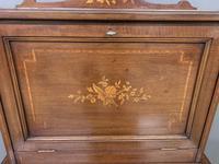 Edwardian Inlaid Mahogany Bonheur Du Jour c.1901 (5 of 19)
