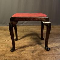Early 18th Century Fruitwood Stool