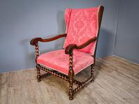 Charles II Period Winged Armchair (7 of 8)