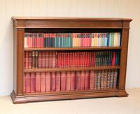 Substantial Oak Open Bookcase (9 of 9)