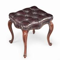 Pair of mid-Victorian Rosewood Stools (3 of 5)