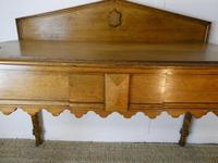 Scottish 19th Century Oak Hall Table (2 of 10)