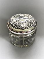 Sterling Silver Topped Dressing Table Jar (2 of 8)