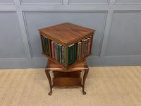 Good Mahogany Revolving Bookcase c.1900 (6 of 8)