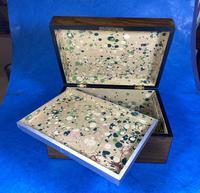 Victorian Walnut Jewellery Box (12 of 13)