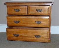 Satin Walnut Chest of Drawers (4 of 6)