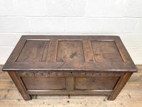 Antique 18th Century Welsh Oak Coffer (3 of 10)
