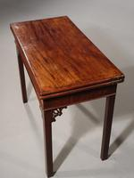 Good Chippendale Period Card Table (7 of 7)