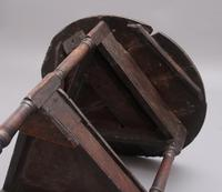 17th Century Oak Cricket Table (8 of 10)