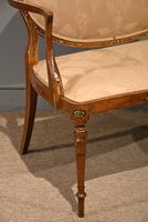 Satinwood Painted Sofa From 19th Century (5 of 6)