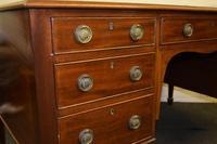 Lovely Antique Mahogany Desk (6 of 9)