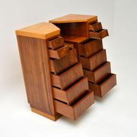 Pair of Vintage 1950's Walnut Bedside Chests (10 of 12)