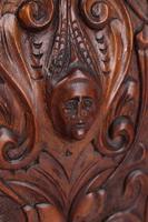 Victorian Arts & Crafts Walnut Cabinet (11 of 13)