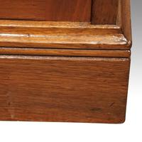 Pair Edwardian Walnut Open Bookcases (7 of 11)