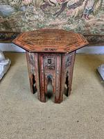 Antique Lacquered Eastern Table (3 of 5)