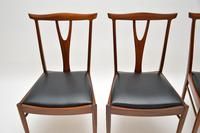 Set of 4 Vintage Dining Chairs in Rosewood & Afromosia (3 of 12)