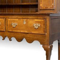 Good Mid 19th Century Oak Dresser & Rack (3 of 6)