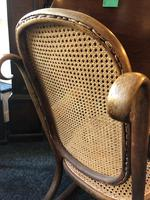 Antique Thonet Bentwood Rocking Chair Rare Stamped (6 of 6)