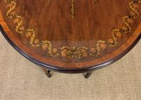 Fine Quality Oval Inlaid Mahogany Occasional Table (16 of 16)
