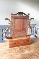 Swedish Birch / Masurbjörk Box Mirror Rococo style c.1820 (15 of 15)
