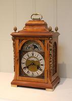 Small Burr Maple Bracket Clock (3 of 9)