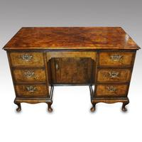 George V Walnut Dressing Table