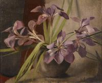 "Oil Painting by Alice Liesenring ""Still-Life of Flowers"" (4 of 4)"