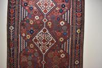 Antique Khamseh tribal rug 217x124cm (7 of 10)