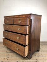 Antique 19th Century Oak & Mahogany Chest of Drawers (12 of 12)
