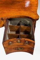 George III Period Serpentine Sideboard (6 of 8)