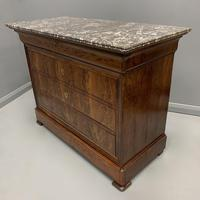 Louis Philippe Marble Top Commode (4 of 6)