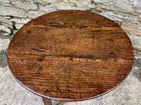 Antique Georgian Oak Cricket Table (15 of 15)