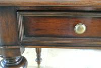 Elegant Gillows Style Mahogany Writing Table Desk (10 of 12)